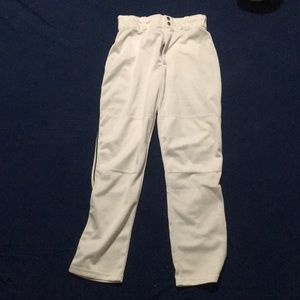 Wilson white baseball pants